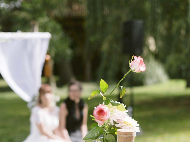 Le mariage de Coralie et Elodie à Maisse, Essonne 93