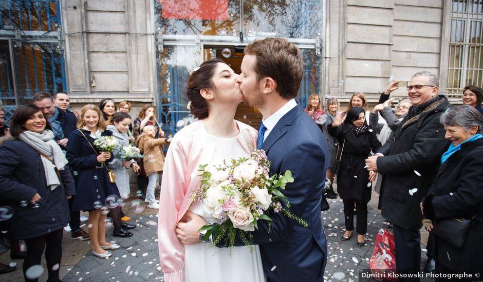 Le mariage de Martin et Méryl à Paris, Paris