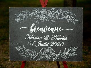 Le mariage de Marion et Nicolas 1