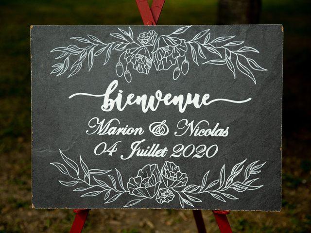 Le mariage de Nicolas et Marion à Arveyres, Gironde 2