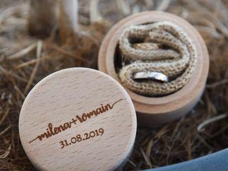 Le mariage de Milena et Romain 1