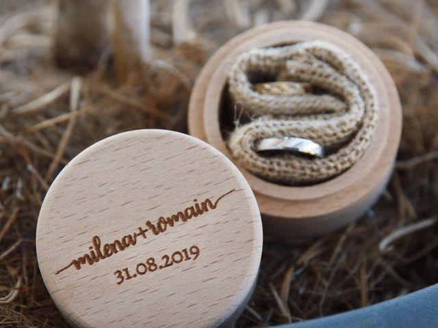 Le mariage de Romain et Milena à La Chapelle-sur-Erdre, Loire Atlantique 2