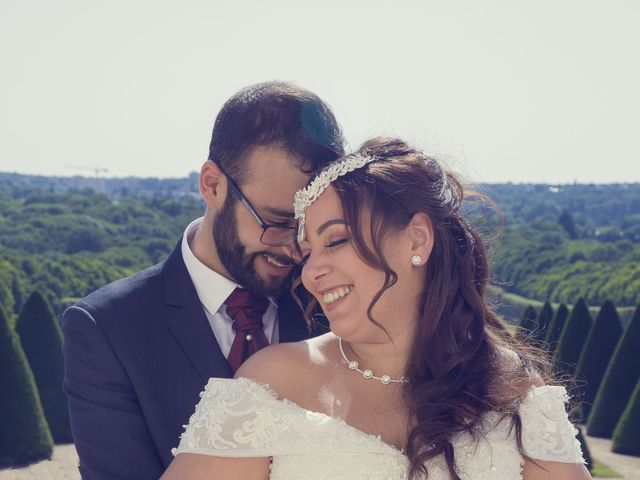 Le mariage de Mohamed et Rizlane à Paris, Paris 1