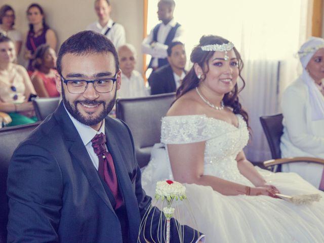Le mariage de Mohamed et Rizlane à Paris, Paris 5