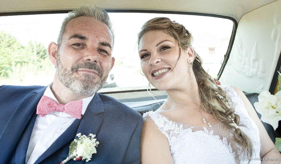 Le mariage de Morgan et Mathilde à Dangé-Saint-Romain, Vienne