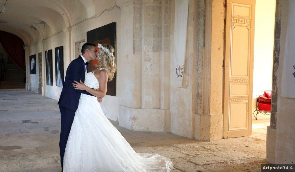Le mariage de Jerome et Jessica à Alignan-du-Vent, Hérault