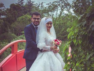 Le mariage de Aatika  et Owes  1
