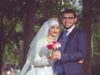 Le mariage de Aatika  et Owes  2