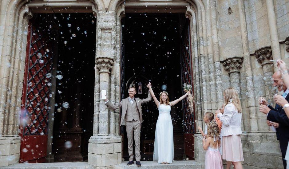Le mariage de Trovalet-Pélégris et Sybille à Coutances, Manche