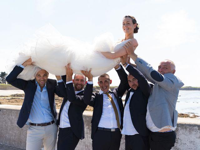 Le mariage de Johan et Ludivine à Quiberon, Morbihan 43