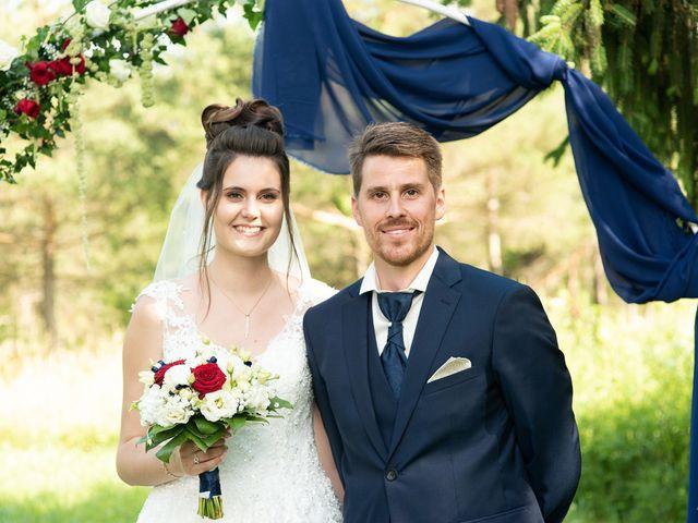 Le mariage de Alexandre et Emilie à Frangy, Haute-Savoie 30