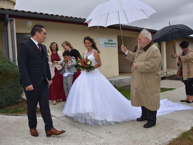 Le mariage de Maihi  et Hinano à Arsac, Gironde 15