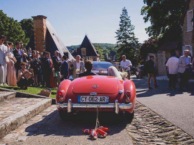 Le mariage de Olivier et Marie à Boisset-les-Prévanches, Eure 25