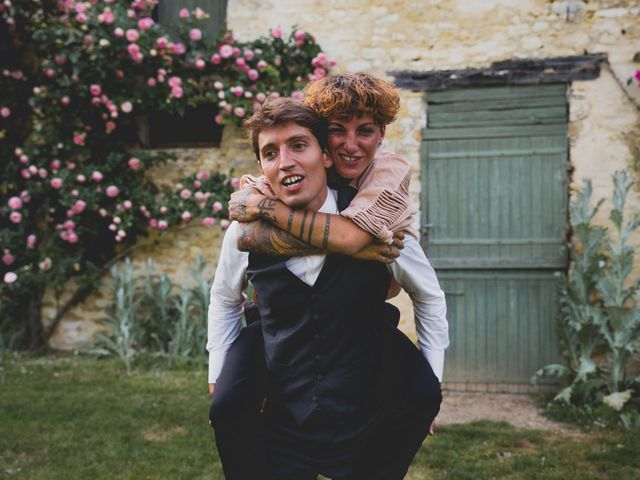 Le mariage de Olivier et Marie à Boisset-les-Prévanches, Eure 44