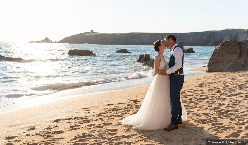 Le mariage de Johan et Ludivine à Quiberon, Morbihan