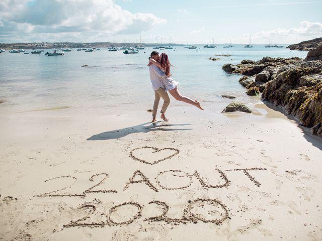 Le mariage de Teddy et Lola à Bohars, Finistère 5