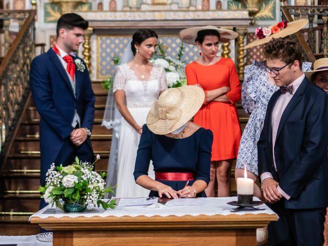 Le mariage de Aldric et Camille à Ascain, Pyrénées-Atlantiques 8