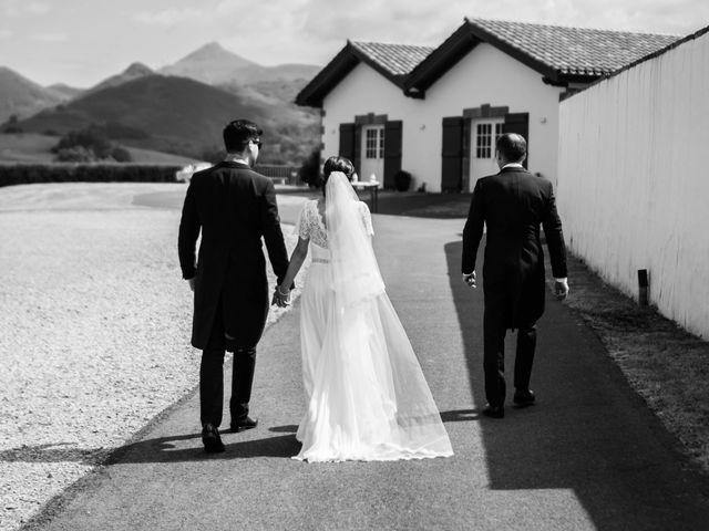 Le mariage de Aldric et Camille à Ascain, Pyrénées-Atlantiques 10