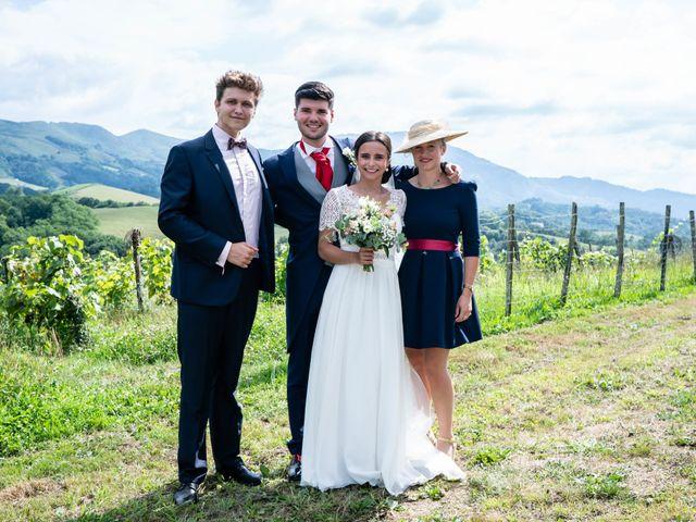 Le mariage de Aldric et Camille à Ascain, Pyrénées-Atlantiques 14