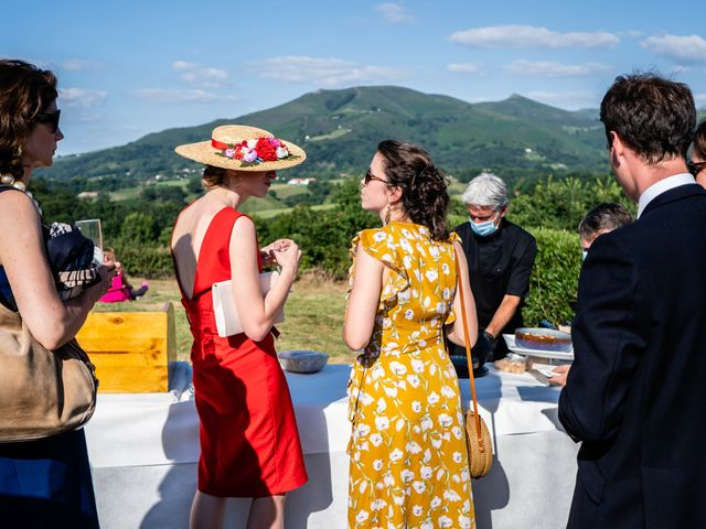 Le mariage de Aldric et Camille à Ascain, Pyrénées-Atlantiques 26