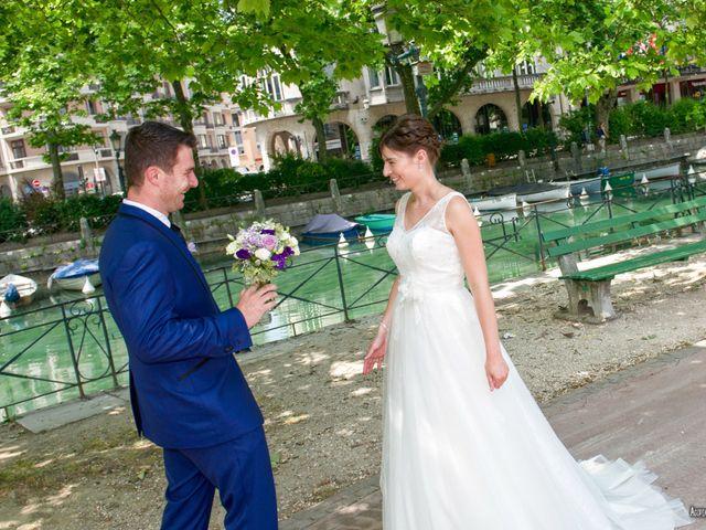Le mariage de Philippe et Léa à Giez, Haute-Savoie 9
