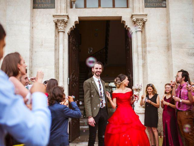 Le mariage de Lhéo et Sarah à Saint-Gilles, Gard 32