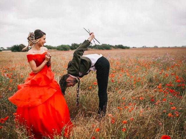 Le mariage de Lhéo et Sarah à Saint-Gilles, Gard 55