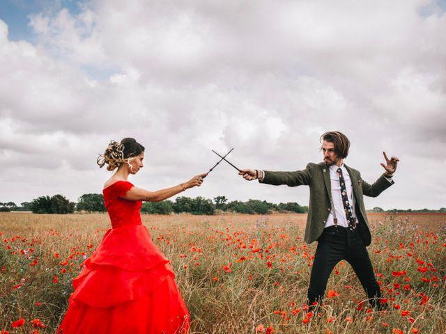 Le mariage de Lhéo et Sarah à Saint-Gilles, Gard 56