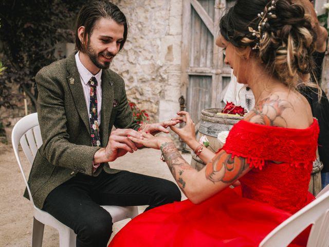 Le mariage de Lhéo et Sarah à Saint-Gilles, Gard 92