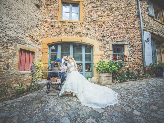 Le mariage de Jonathan et Camille à Millery, Rhône 65
