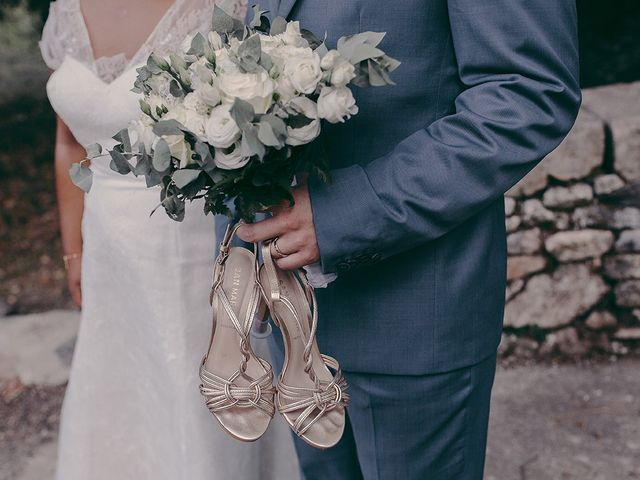 Le mariage de Siméon et Emma à Lodève, Hérault 77