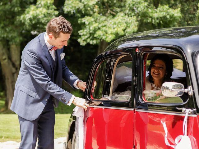 Le mariage de Jean-Charles et Rim à La Chaussaire, Maine et Loire 4