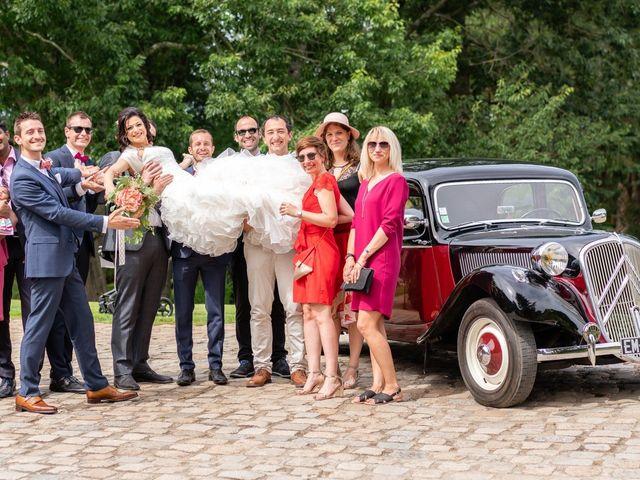 Le mariage de Jean-Charles et Rim à La Chaussaire, Maine et Loire 15