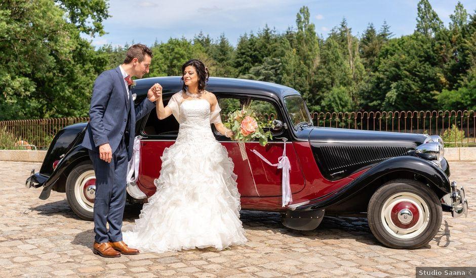 Le mariage de Jean-Charles et Rim à La Chaussaire, Maine et Loire