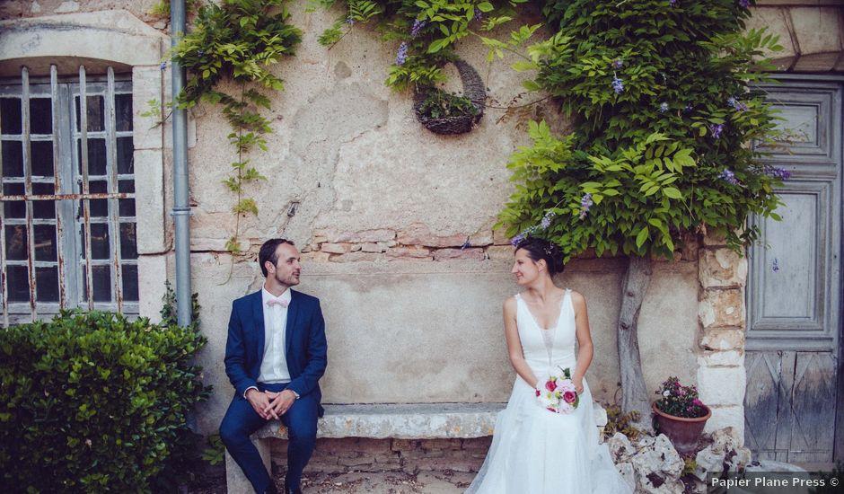 Le mariage de Jonnathan et Mathilde à Génelard, Saône et Loire