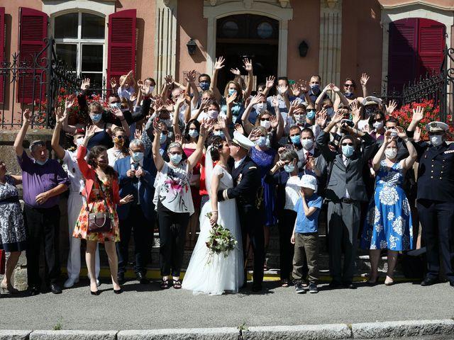 Le mariage de Jean-Christophe et Myriam à Rougemont-le-Château, Territoire de Belfort 23