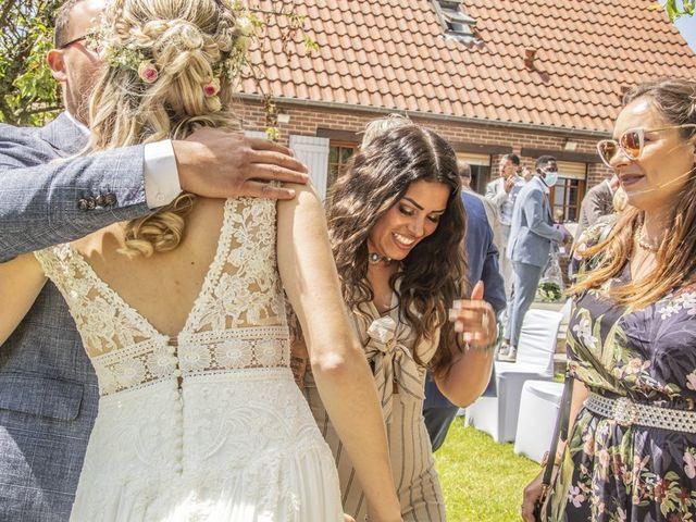 Le mariage de Vivien et Céline à Villers-Outréaux, Nord 61