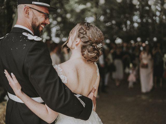 Le mariage de Matthieu et Claire à Choué, Loir-et-Cher 1