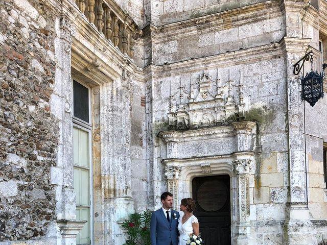 Le mariage de Ingrid et Alexandre à Courtalain, Eure-et-Loir 1