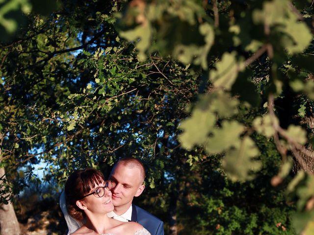 Le mariage de François et Eva à Saint-Maximin-la-Sainte-Baume, Var 17