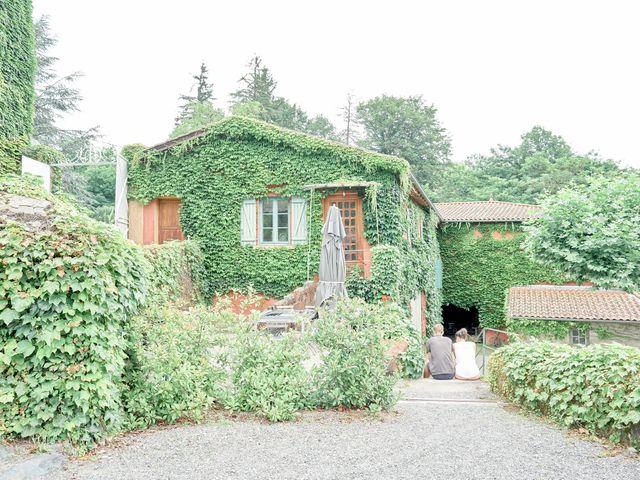 Le mariage de Charles et Louise à Brullioles, Rhône 4
