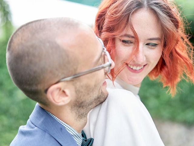Le mariage de Charles et Louise à Brullioles, Rhône 11