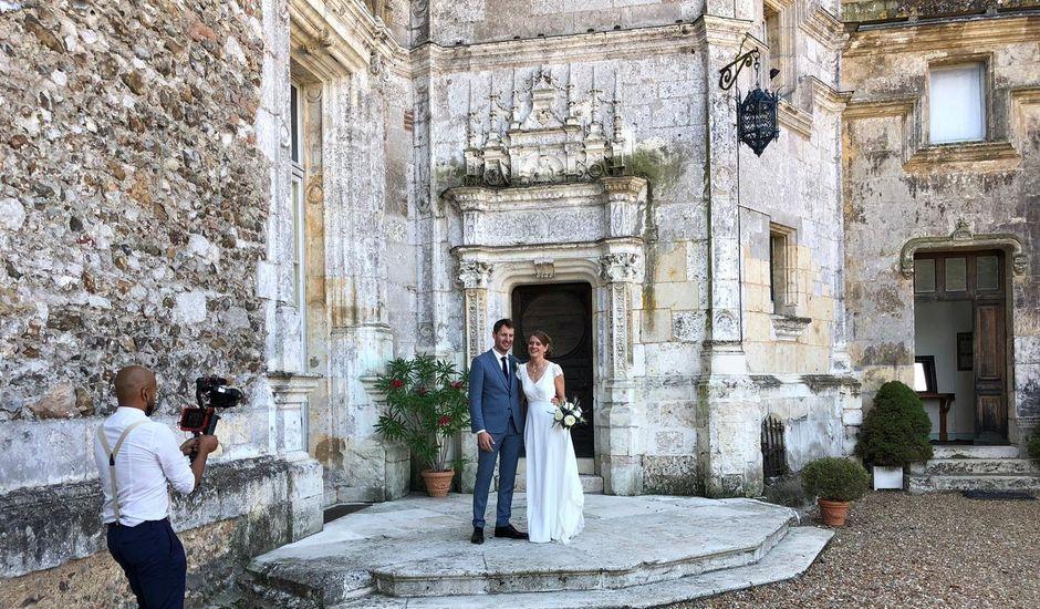 Le mariage de Ingrid et Alexandre à Courtalain, Eure-et-Loir