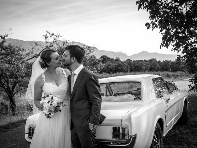 Le mariage de Andrew et Agnès à Moirans, Isère 11