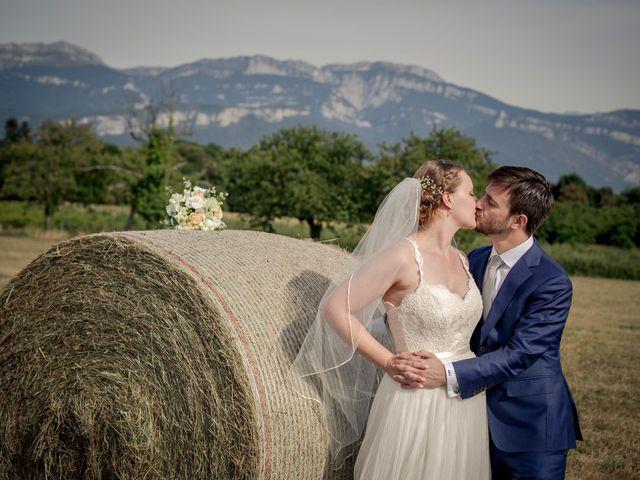 Le mariage de Andrew et Agnès à Moirans, Isère 18