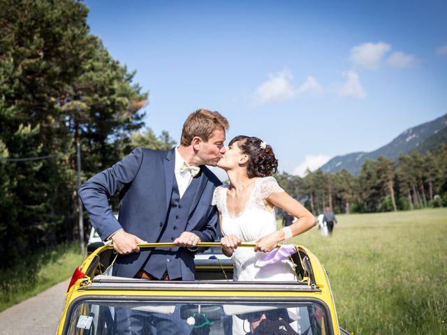 Le mariage de Frédéric et Amandine à Saint-Auban, Alpes-de-Haute-Provence 26