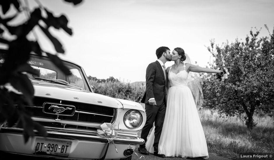 Le mariage de Andrew et Agnès à Moirans, Isère