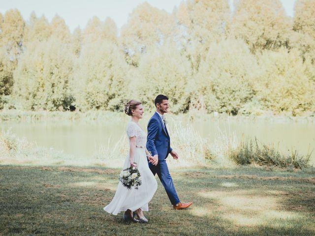 Le mariage de Christophe et Emilie à Santeuil, Eure-et-Loir 14