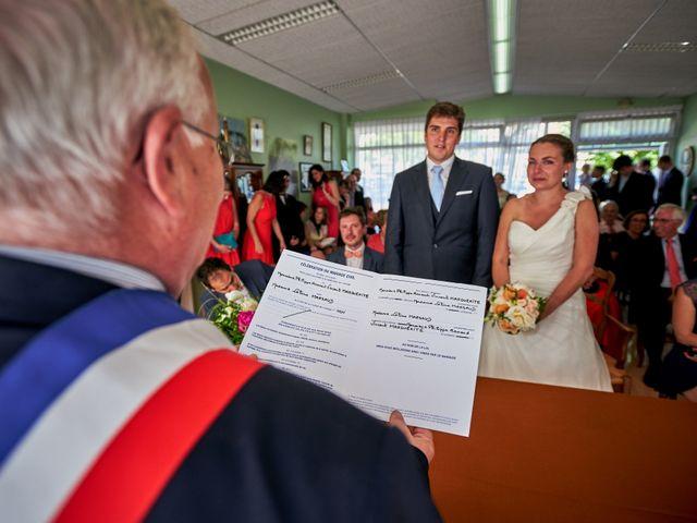 Le mariage de Phillippe et Céline à Le Vey, Calvados 29