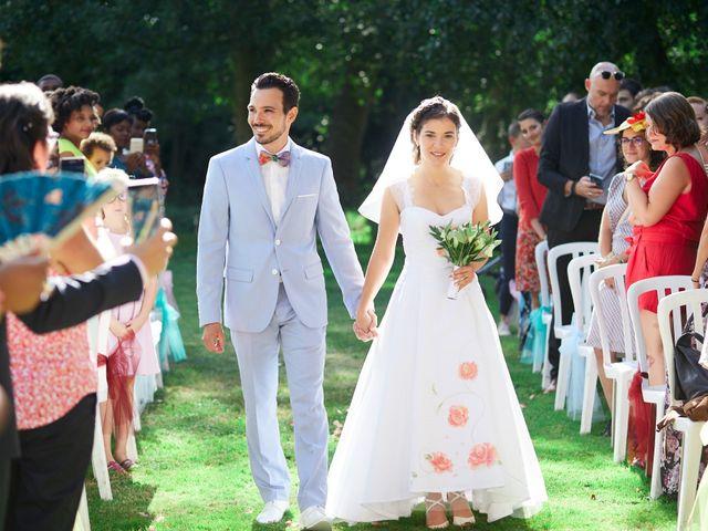 Le mariage de Kevin et Julie à Carrières-sur-Seine, Yvelines 1